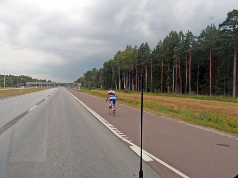 Rennradfahren in EE...